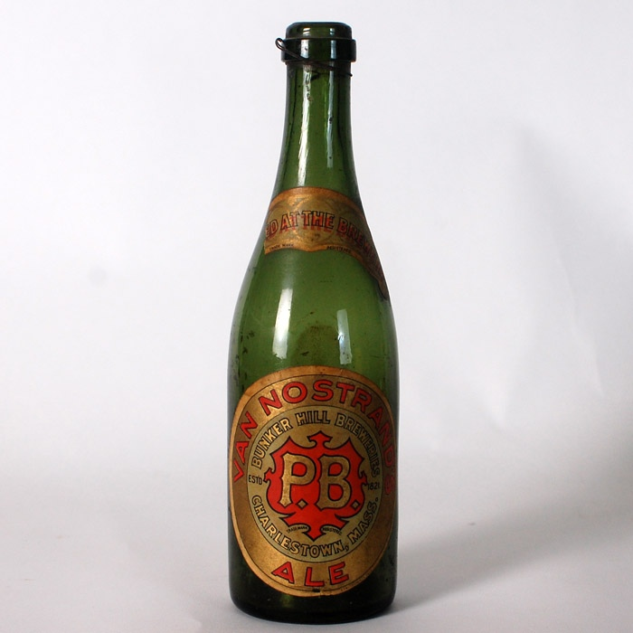 Van Nostrand PB Ale Bottle Beer