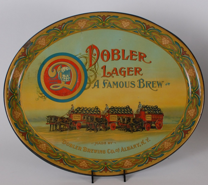 Dobler Lager Beer Wagon Tray Beer