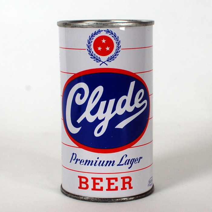 Clyde Premium Lager Beer Can Beer