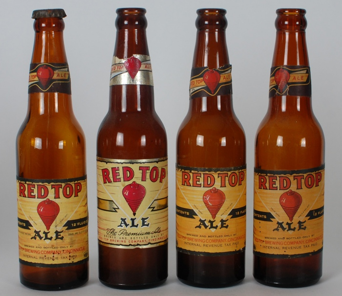 Red Top Ale Set 3 Bottles Beer