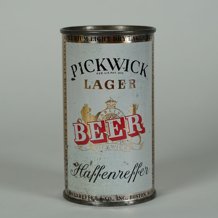 Pickwick Lager Beer Can 115-04 Beer