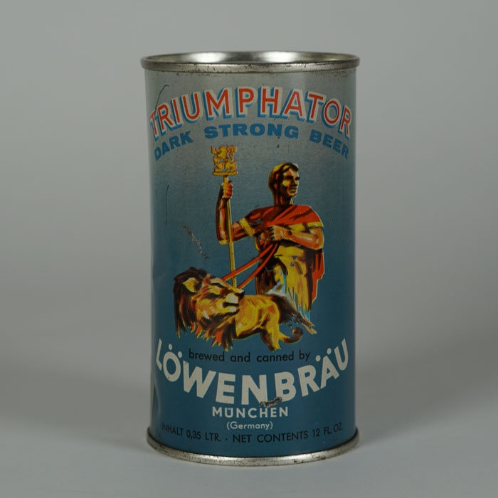 Lowenbrau Triumphator Beer Can Beer