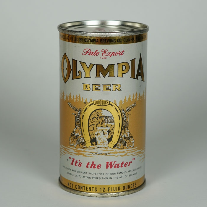 Olympia Beer Can 109-10 Beer
