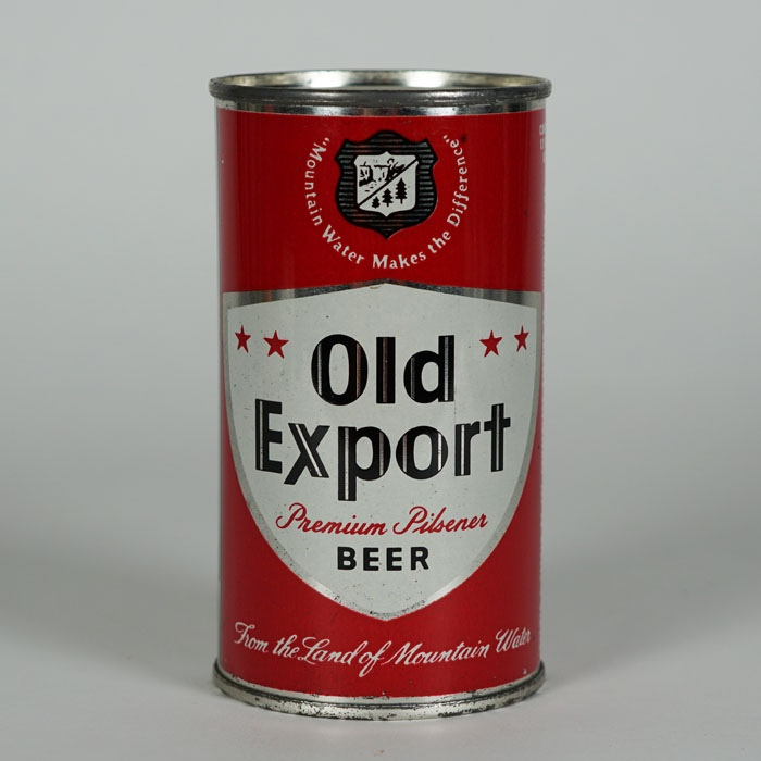 Old Export Beer Can 106-14 Beer