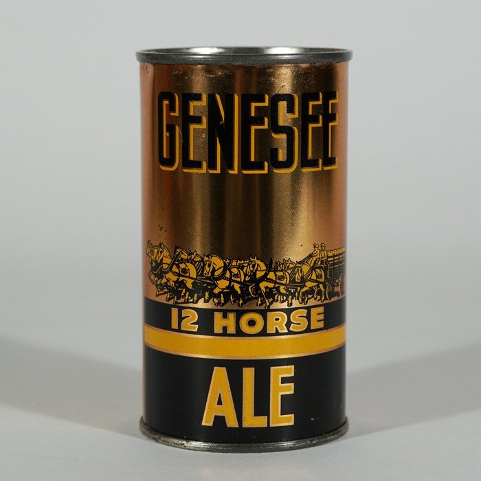 Genesee 12 Horse Ale Can 327 Beer