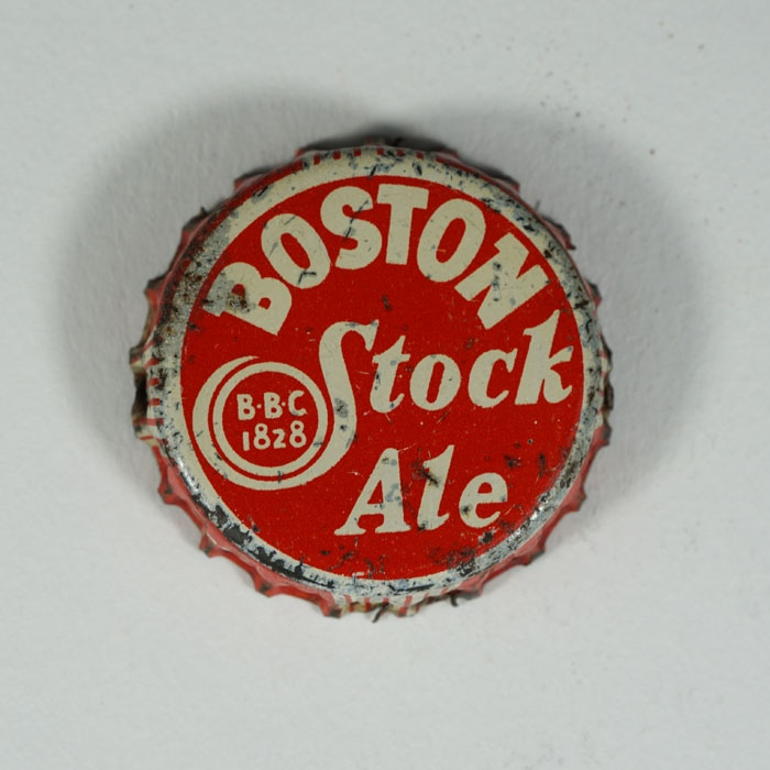 Boston Stock Ale Crown Cap Beer
