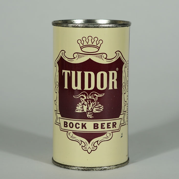 Tudor Bock Beer Can 141-06 Beer