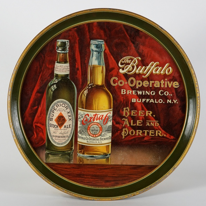 Buffalo Co-Operative Brewing Beer Ale Porter Tray Beer