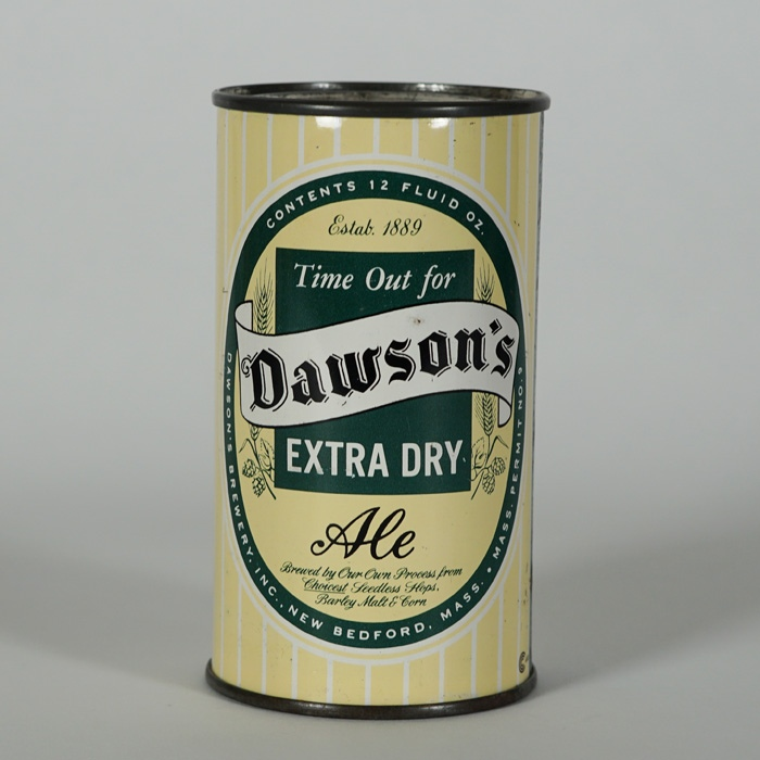 Dawson's Ale Flat Top Can Beer