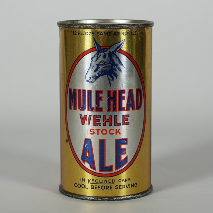 Mule Head Ale Long Opener Can Beer