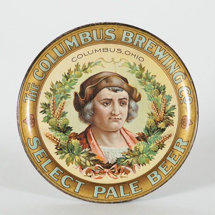 Columbus Brewing Pale Beer Tip Tray Beer