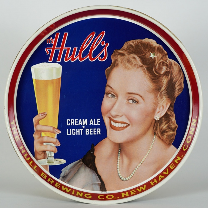 Hulls Pretty Lady Beer Tray Beer
