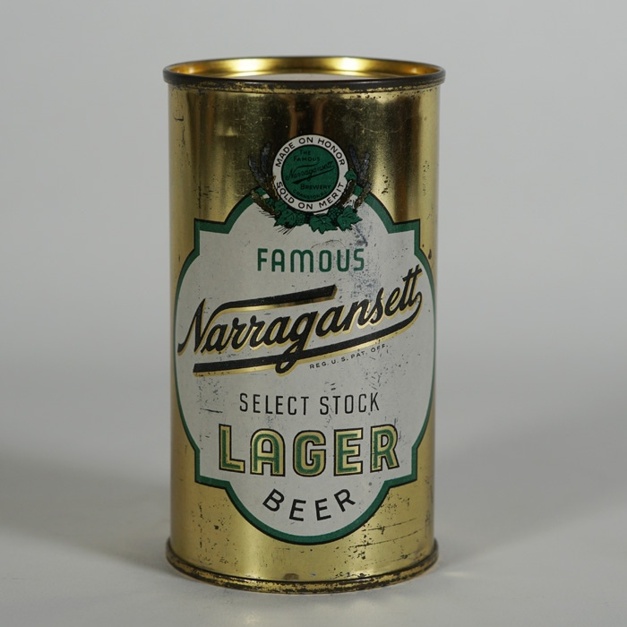 Narragansett Select Stock Lager Can Beer