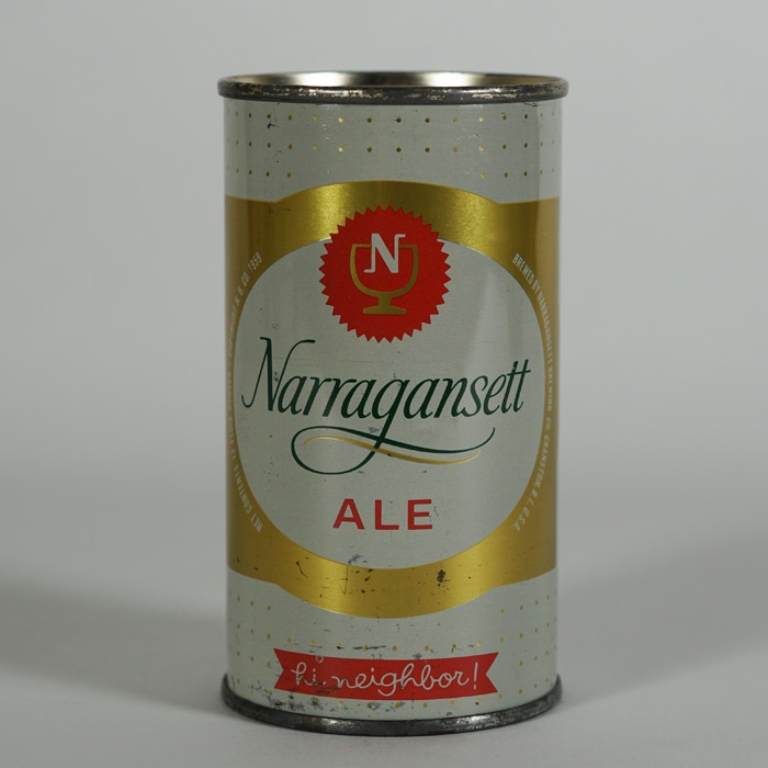Narragansett Ale Flat Top Beer