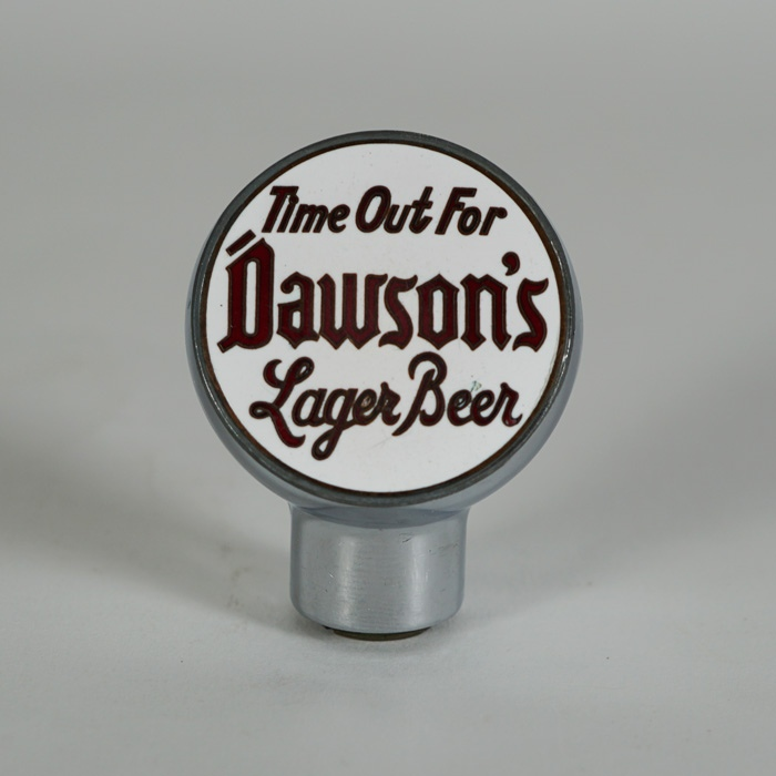 Dawsons Time Out for Lager Beer Knob Beer