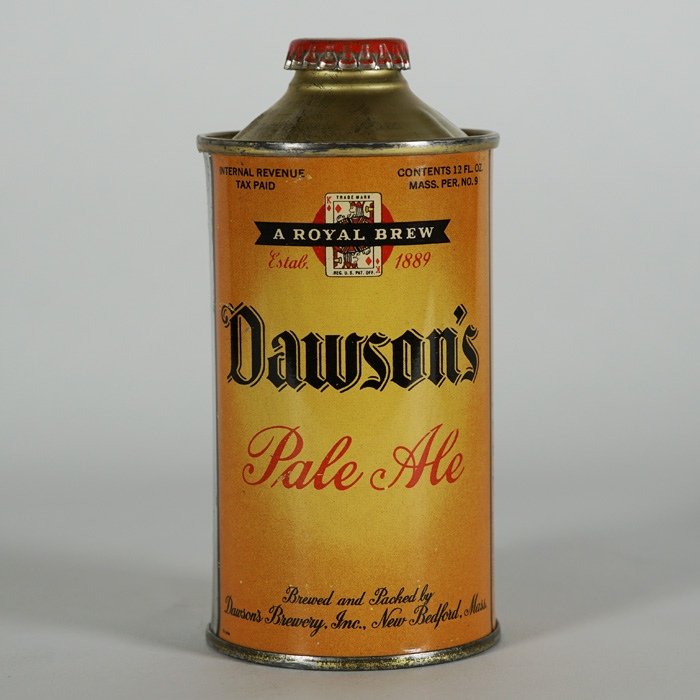 Dawson's Pale Ale LP Cone Top Can 158-27 Beer