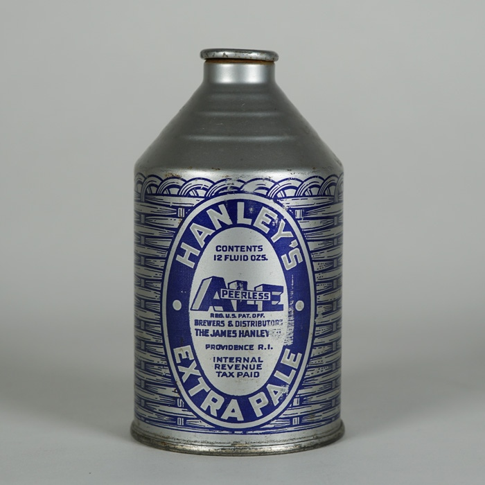 Hanley's Extra Pale Ale Crowntainer 195-10 Beer