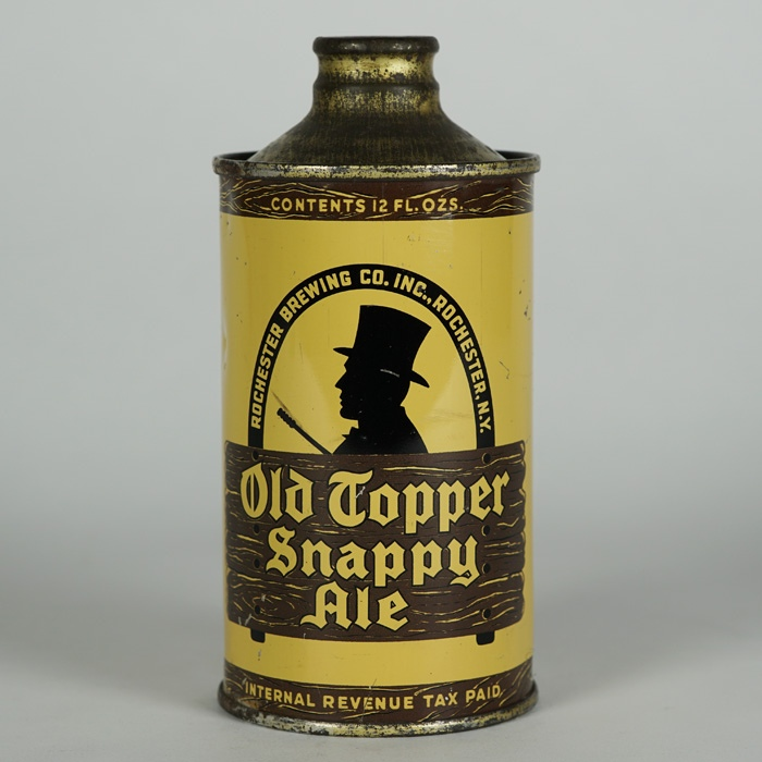 Old Topper Snappy Ale J Spout Cone 178-7 Beer