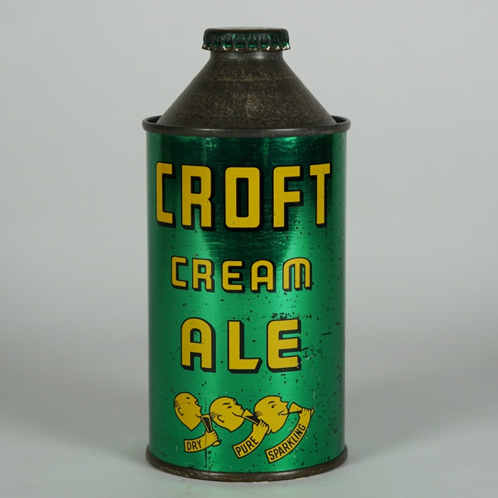Croft Cream Ale Cone Top 158-20 Beer