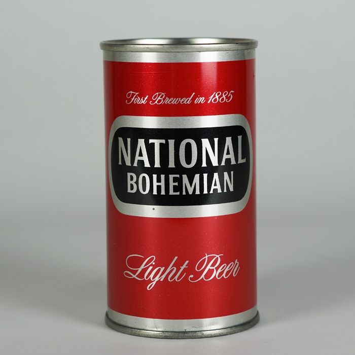 National Bohemian Light Can 102-12 Beer