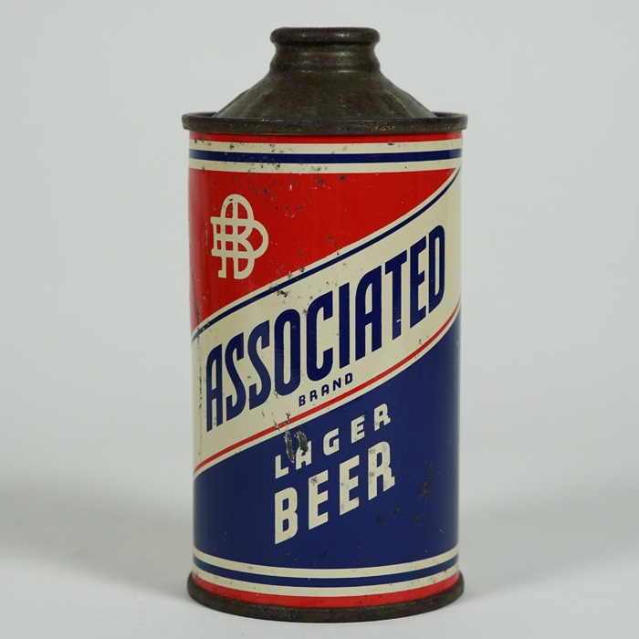 Associated Lager Beer Cone Top Can 150-22 Beer