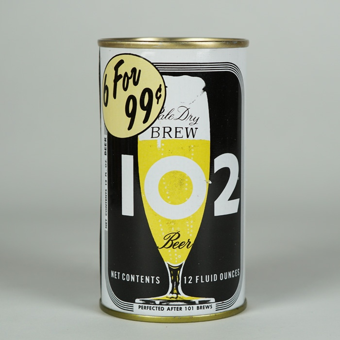 Brew 102 6 for 99 Cents 45-21 Beer