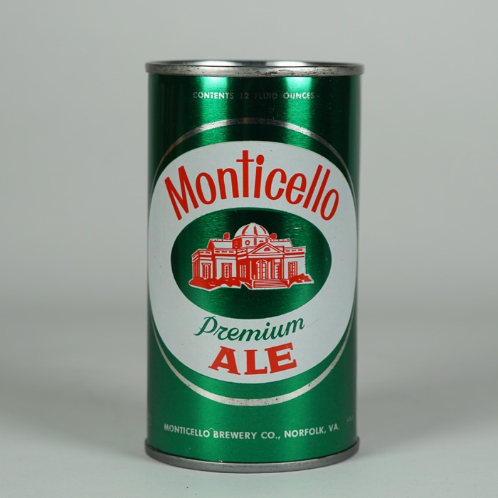 Monticello Ale JUICE TAB Can 95-04 Beer
