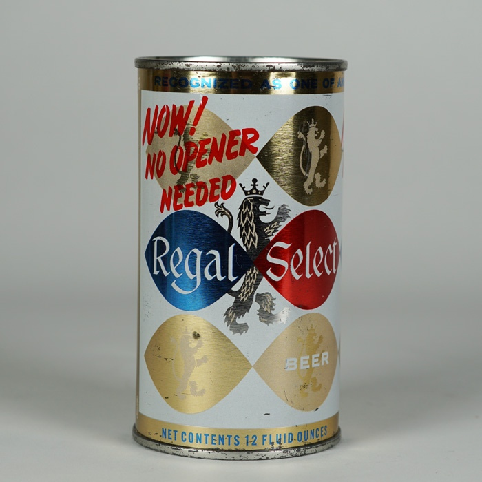 Regal Select No Opener Needed JUICE TAB 113-33 Beer