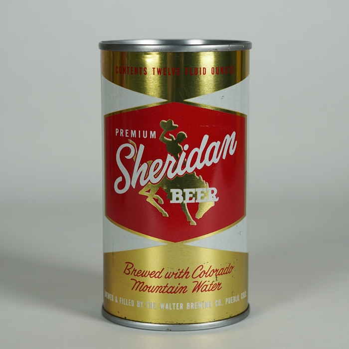 Sheridan Beer Can 132-40 Beer