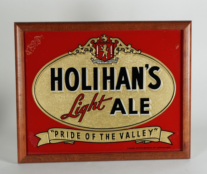 Holihan's Ale Pride of Valley ROG Sign Beer