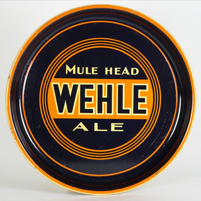 Wehle Mule Head Ale Tray Beer