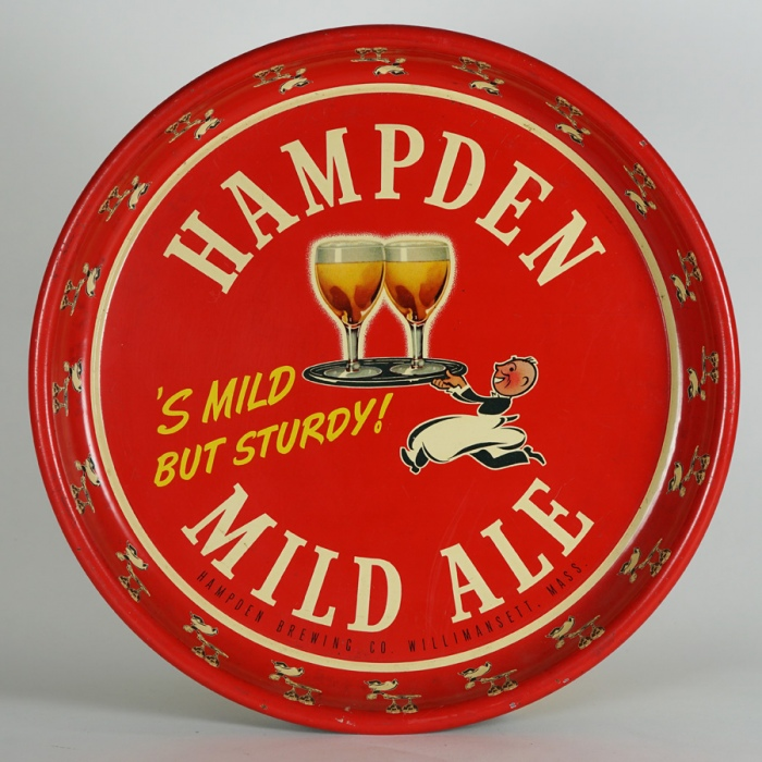 Hampden Smild but Sturdy Waiter Tray Beer