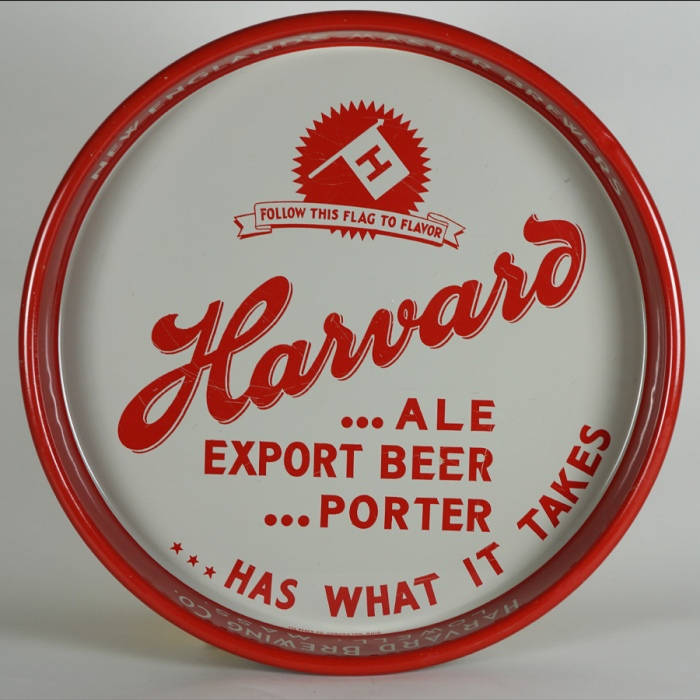 Harvard Ale Export Porter DULL GRAY Tray Beer