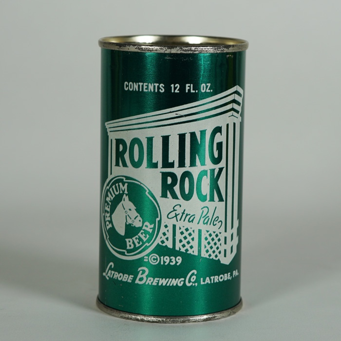Rolling Rock Beer Can 125-16 Beer