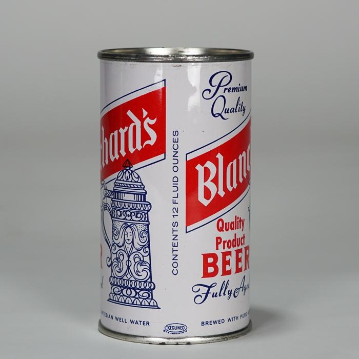 Blanchards Fully Aged Beer Bottle Label Hammonton NJ