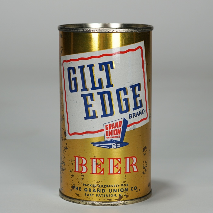 Gilt Edge Brand Beer Can 69-33 Beer