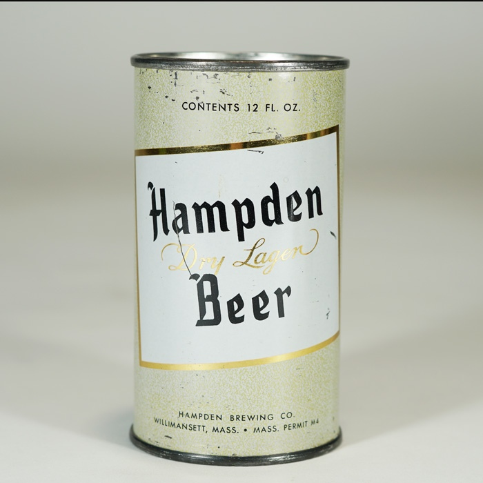 Hampden Dry Lager Beer Can 79-38 Beer
