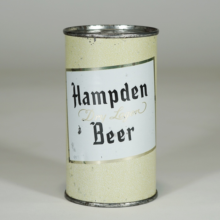 Hampden Dry Lager Beer Can 79-37 Beer