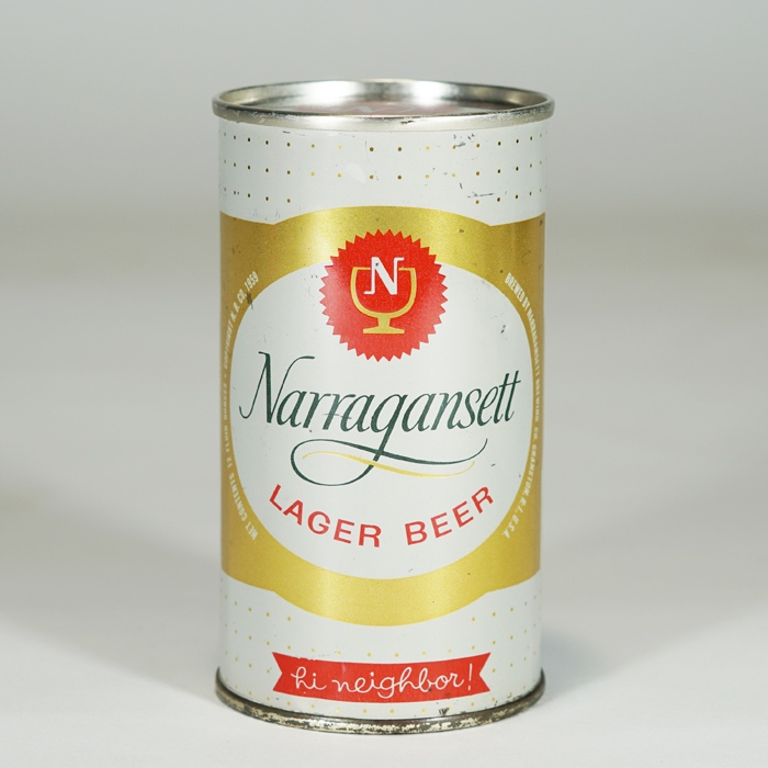 Narragansett Lager SOFT TOP Beer Can 101-29 Beer