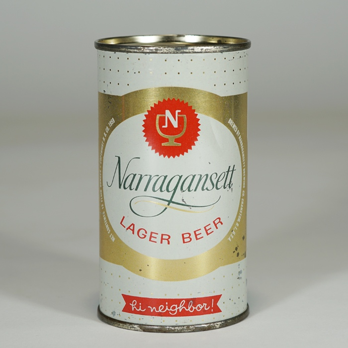 Narragansett Lager Beer Can 101-29 Beer