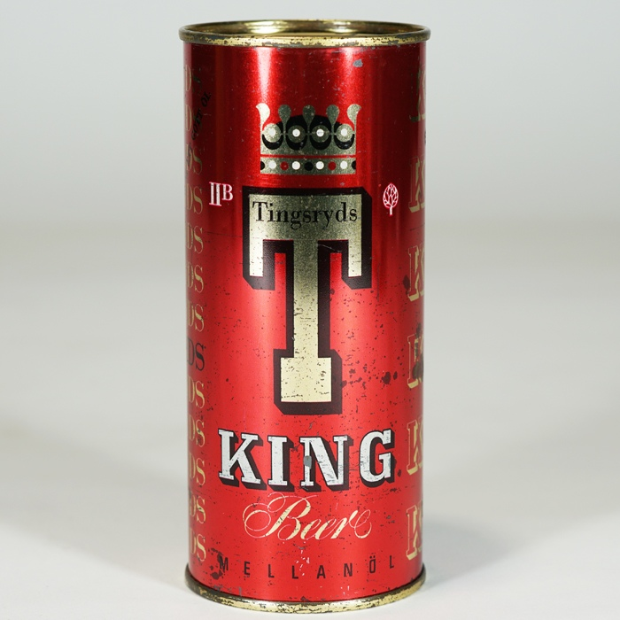 Tingsryds King Beer Can Beer
