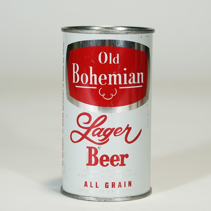 Old Bohemian LAGER Beer RARE Beer