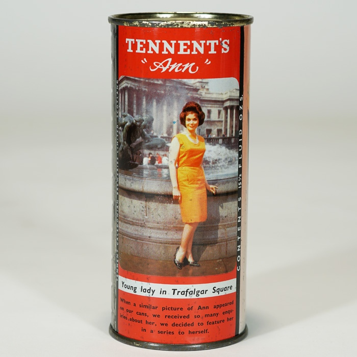 Tennent Ann Trefalgar Square Beer