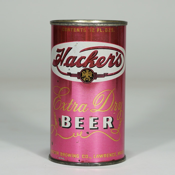 Hackers Beer Can 78-35 Beer