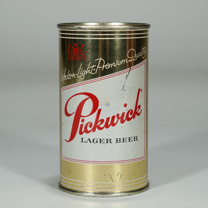 Pickwick Lager Beer Can 115-05 Beer