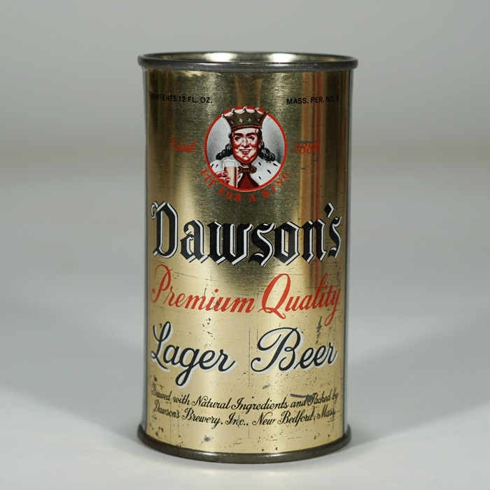 Dawsons Premium Quality Lager Beer Can 53-15 Beer