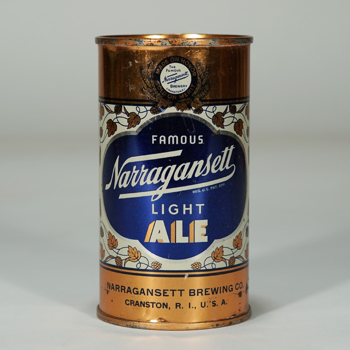 Narragansett Light Ale Can 101-15 Beer