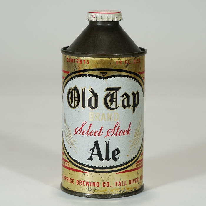 Old Tap Brand Select Stock Ale Cone 178-03 Beer