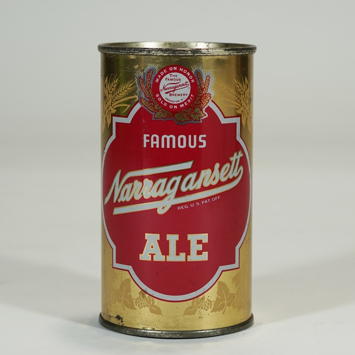 Narragansett Famous Ale CONTINENTAL 101-19 Beer