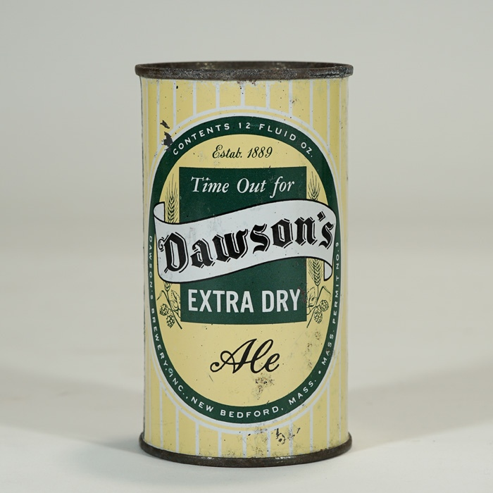 Dawson's Extra Dry Ale 53-08 NO TEXT BOTTOM Beer